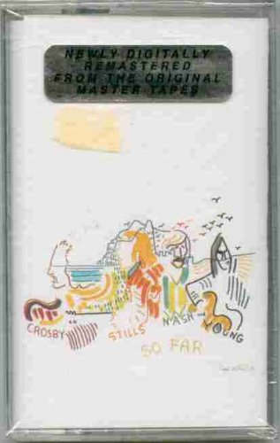 Crosby Stills Nash & Young cassette