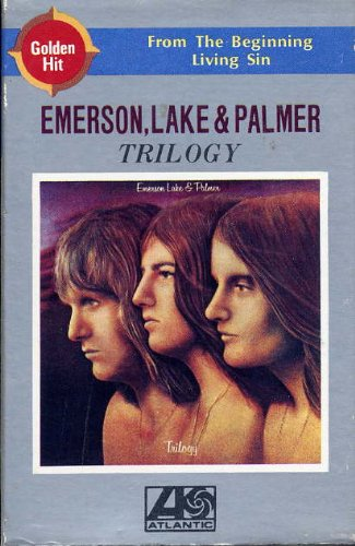 emerson lake & palmer trilogy cassette