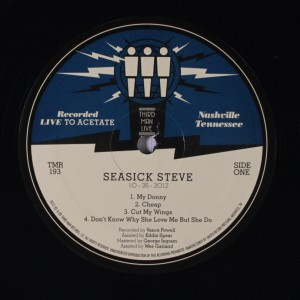 Seasick Steve - Live at Third Man Records [vinyl]