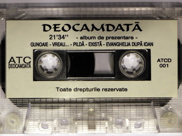 Deocamdata - album de prezentare