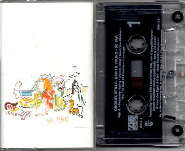 Crosby Stills Nash & Young cassette