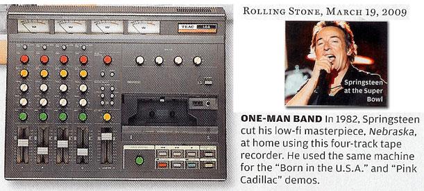 cassette bruce springtsteen
