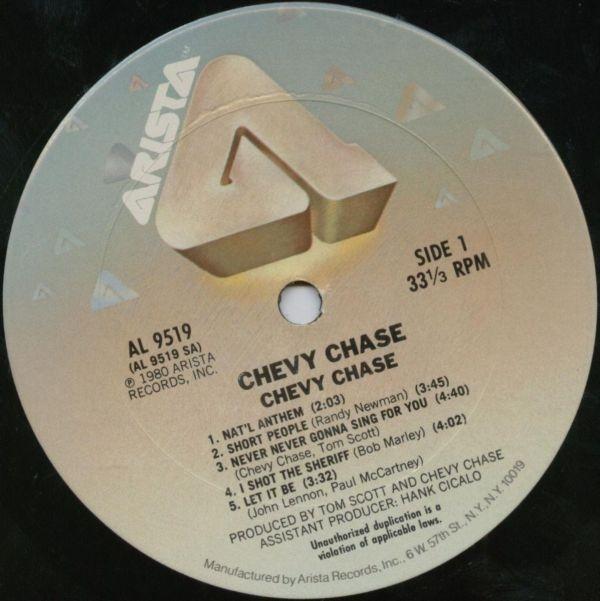 Chevy Chase vinyl cassette