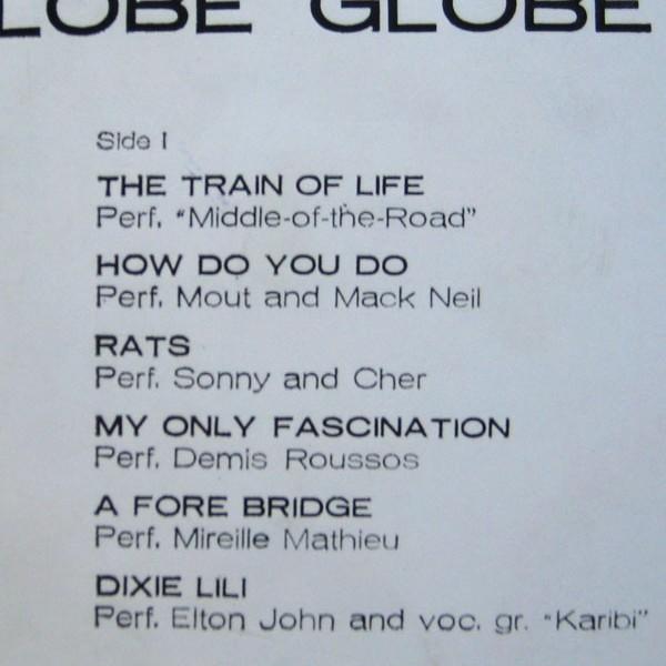 globe vinyl cassette