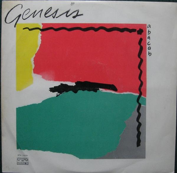 genesis vinyl cassette