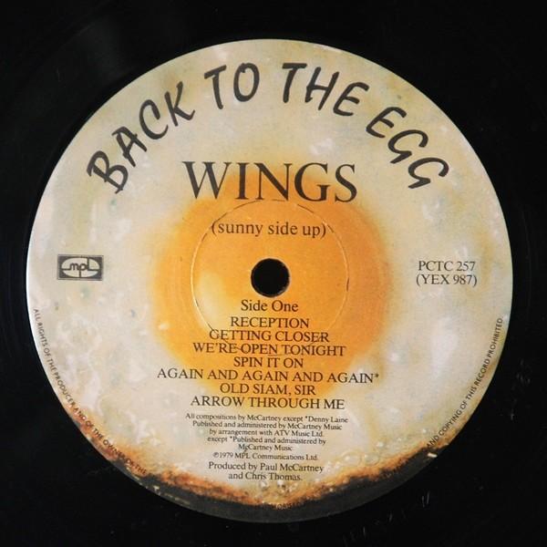 wings vinyl cassette