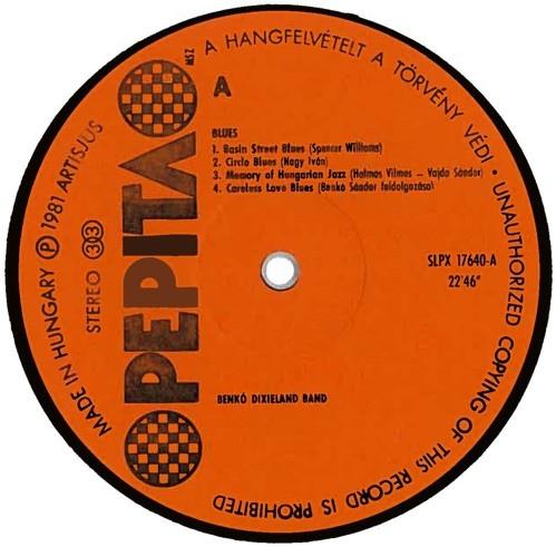 benko vinyl cassette