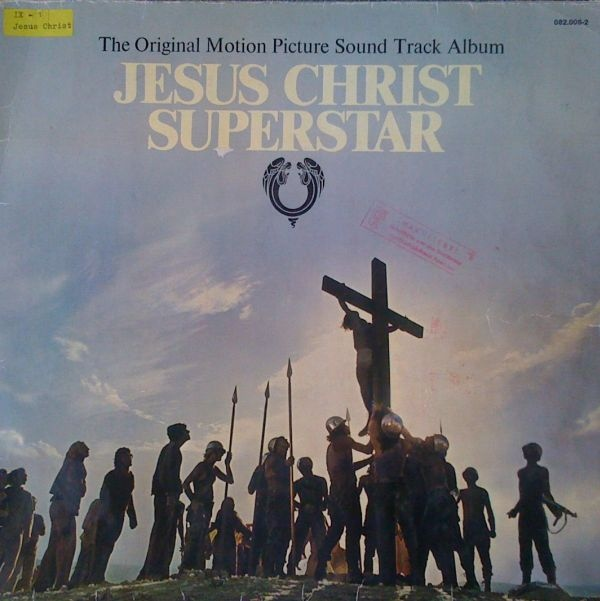 jesus christ superstar vinyl cassette