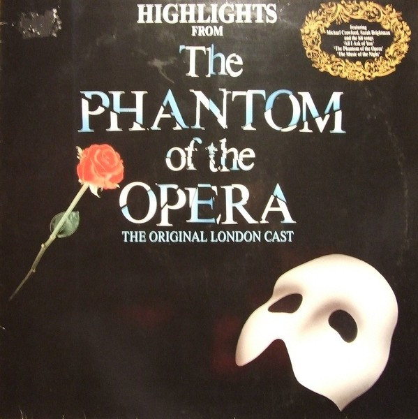 The Phantom Of The Opera vinyl cassette