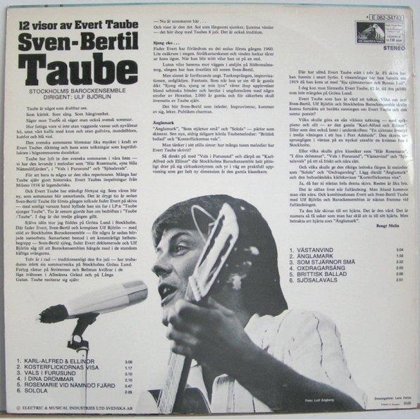 Sven-Bertil Taube vinyl cassette