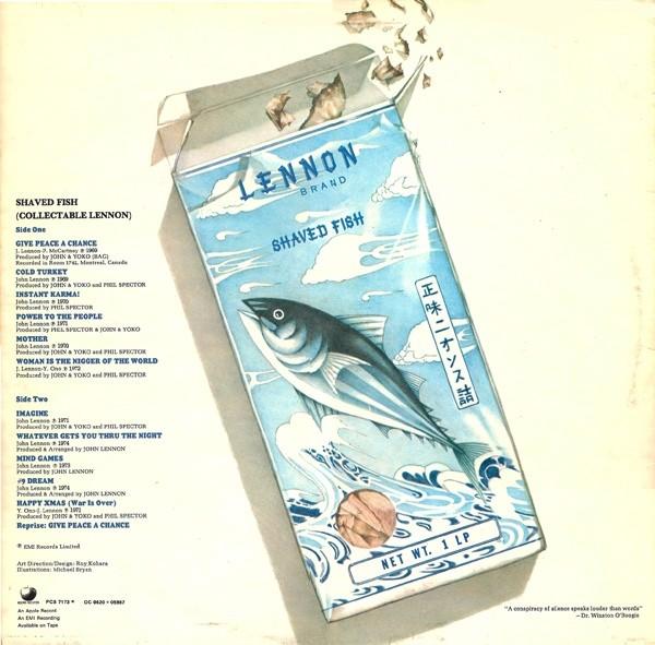 lennon vinyl cassette