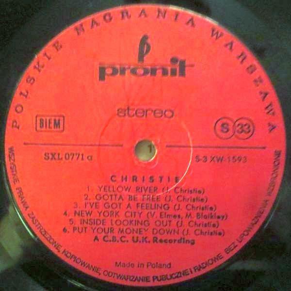 cristie vinyl cassette
