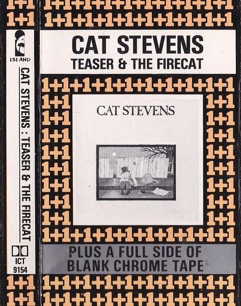 cat stevens vinyl cassette