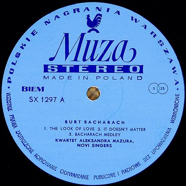 Mazur vinyl cassete