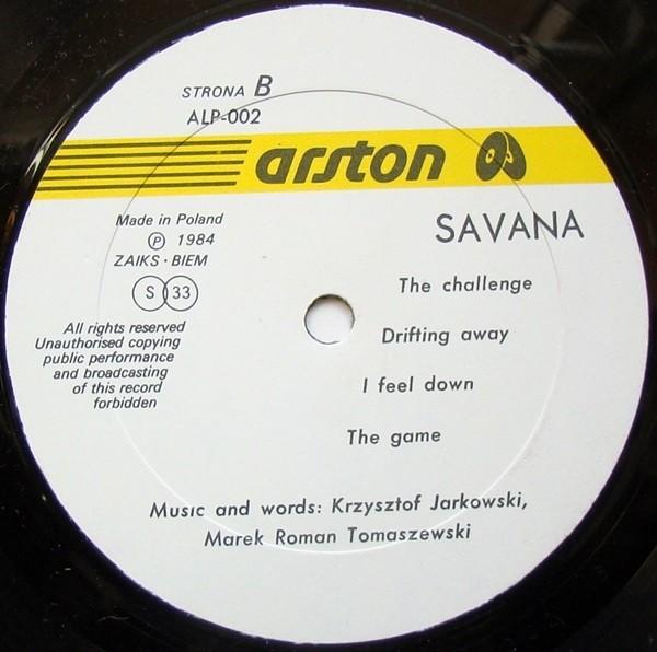 Savana vinyl cassette