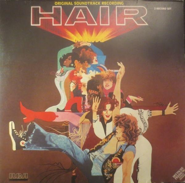 hair vinyl cassette