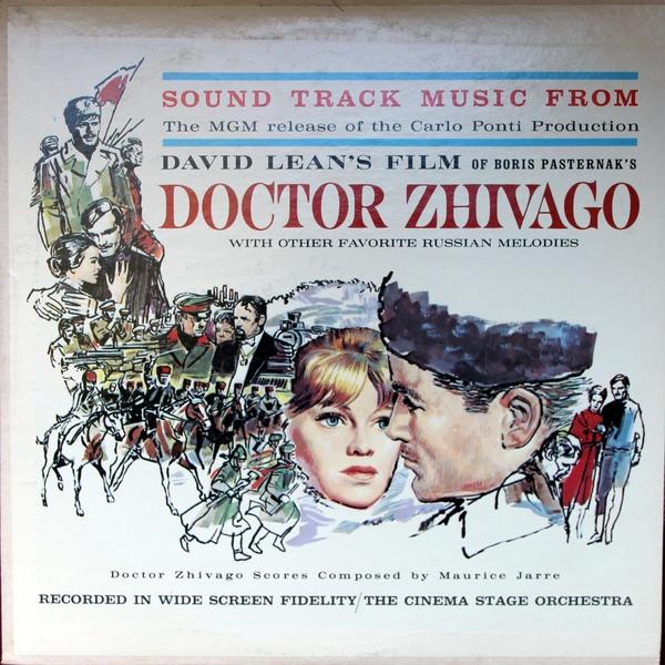 Doctor Zhivago vinyl cassette