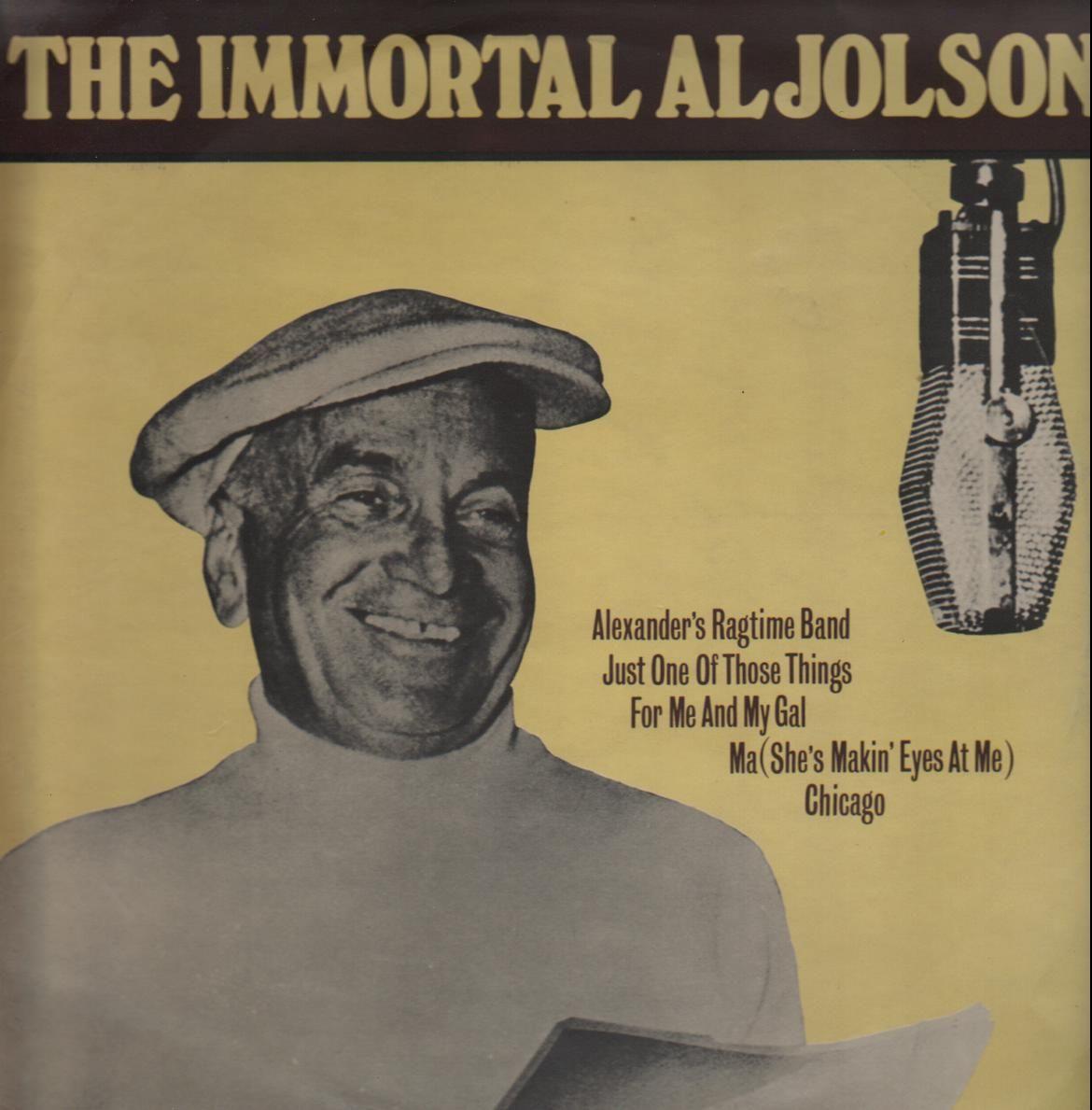 Al Jolson vinyl cassette