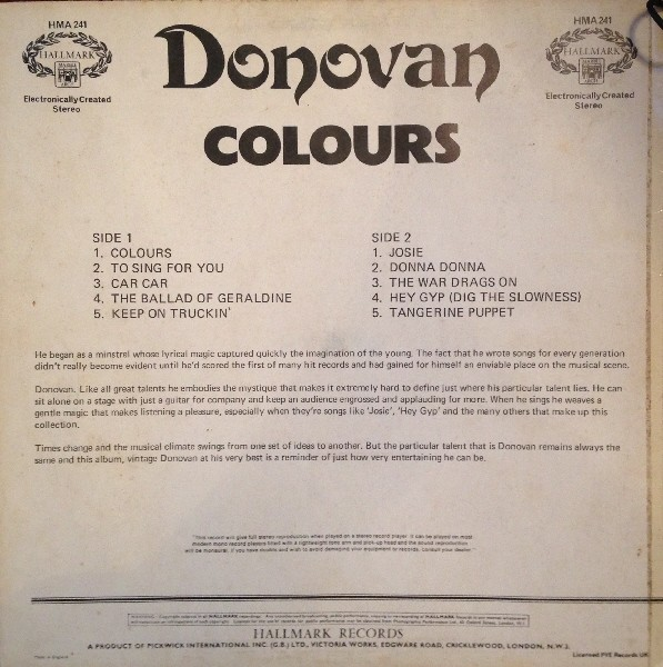 donovan vinyl