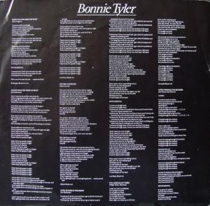 Bonnie Tyler vinyl