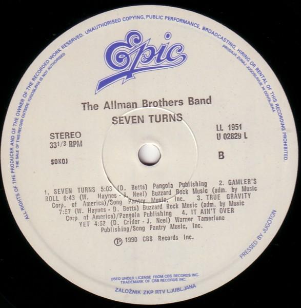 alman brothers vinyl