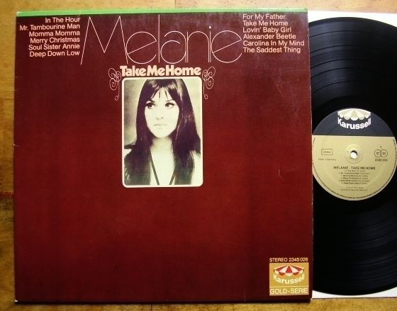 melanie vinyl