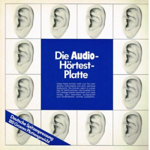 Die Audio Hörtest Platte