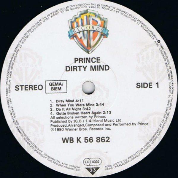 Prince – Dirty Mind