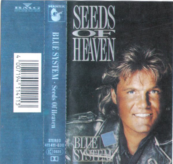 Blue System ‎– Seeds Of Heaven Hiss and Groove cassette vinyl